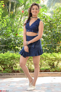 Seerat Kapoor Stunning Cute Beauty in Mini Skirt  Polka Dop Choli Top ~  Exclusive Galleries 071.jpg
