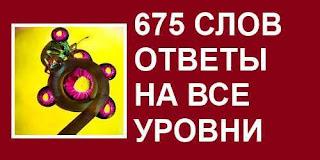 675 ответы на все уровни в картинках