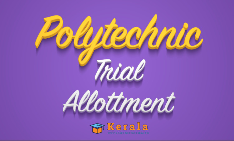 polytechnic trial allotment 2021