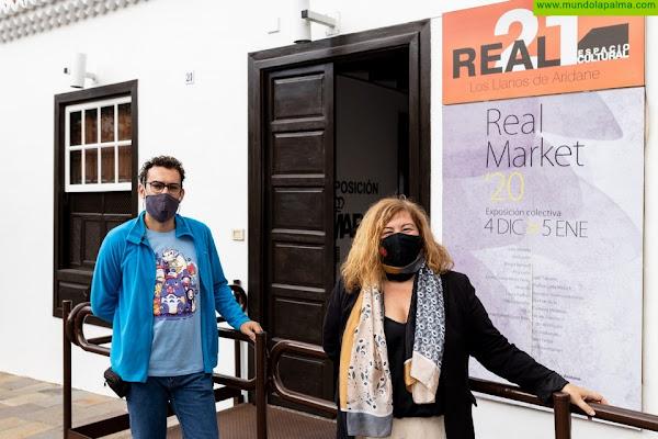 """Abre sus puertas el """"Real Market"""" en el Espacio Cultural Real 21 de Los Llanos de Aridane"""