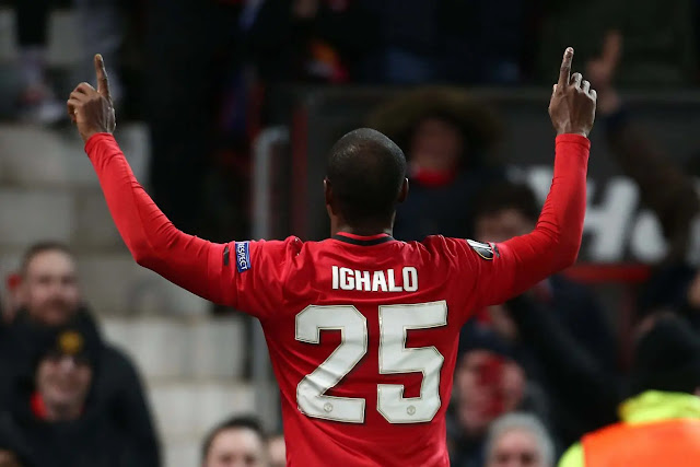 Manchester United: Ighalo wins first award