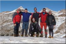 Bacun mendiaren gailurra 2.191 m. -- 2016ko abenduaren 29an