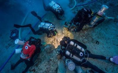 Kerangka Manusia Ditemukan di Kapal Karam Antikythera