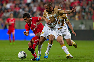 Toluca enfrenta a Pumas UNAM