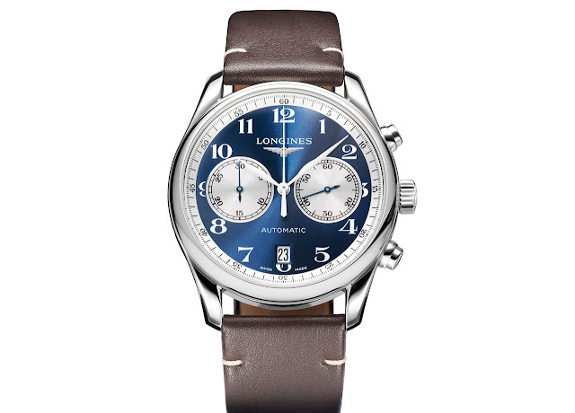 Longines Master Collection Chronograph Bucherer Blue Editions ref. L2.629.4.78.3
