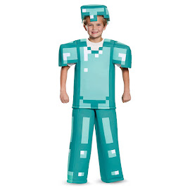 Minecraft Disguise Armor Prestige Costume Gadget
