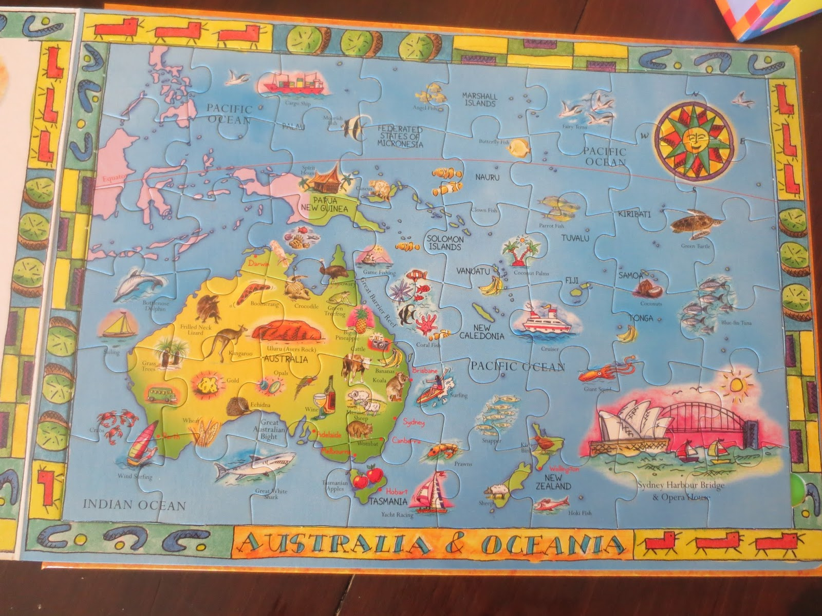 How to learn the countries of the world play eat grow puzzles and books there are a million gumiabroncs Choice Image