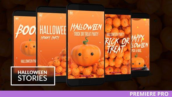 Halloween Instagram Stories[Videohive][Premiere][28695969]