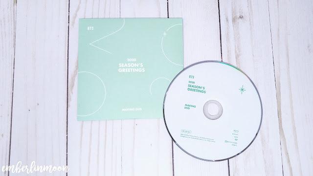 BTS 2020 Season Greetings - Making of DVD
