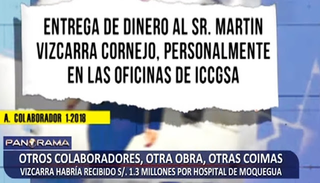 Coimas Vizcarra por S/ 1.3 millones por Hospital de Moquegua