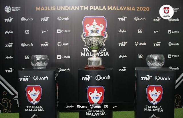 Jadual Penuh Piala Malaysia 2020