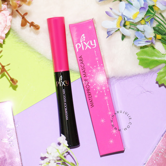 Pixy Waterproof Mascara review