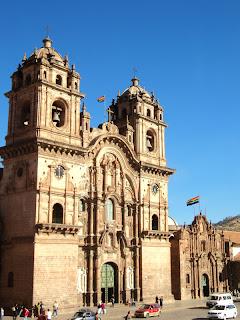 Iglesia de la Compañía de Jesús,  em Cusco, no Peru