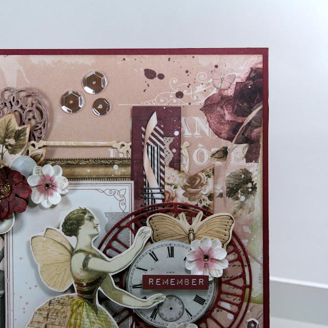 Remember Art Display by Ginny Nemchak using BoBunny Charmed