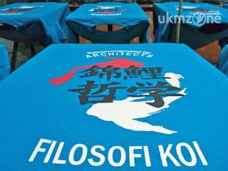 Cetak Kaos Sablon di Daerah Depok - KVD Kaos Van Depok | UKM Zone