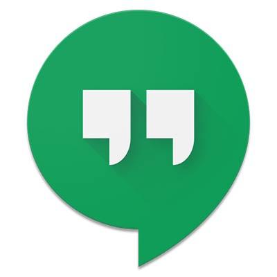 3- برنامج هانج اوت Hangouts