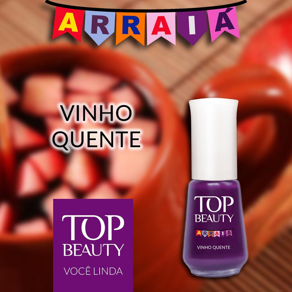Esmalte Top Beauty :: Vinho Quente - Resenha