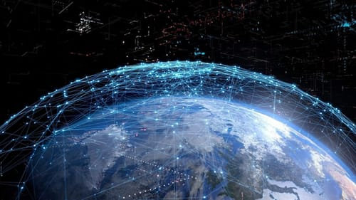 Starlink offers a telephone network as part of its satellite internet service