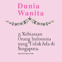 Kebiasaan orang indonesia