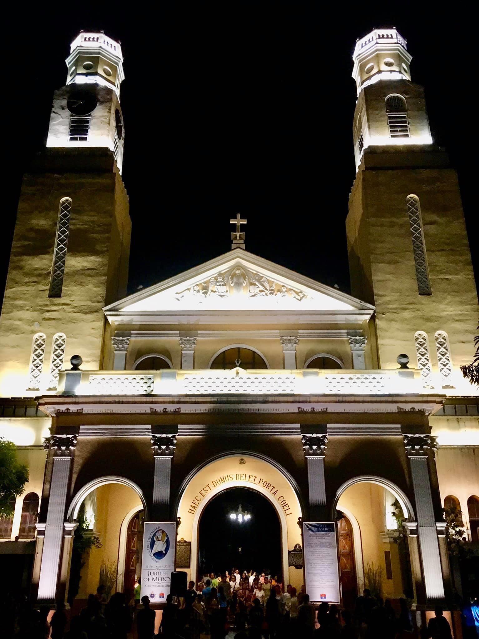 The town church of San Fernando or Paco at present.