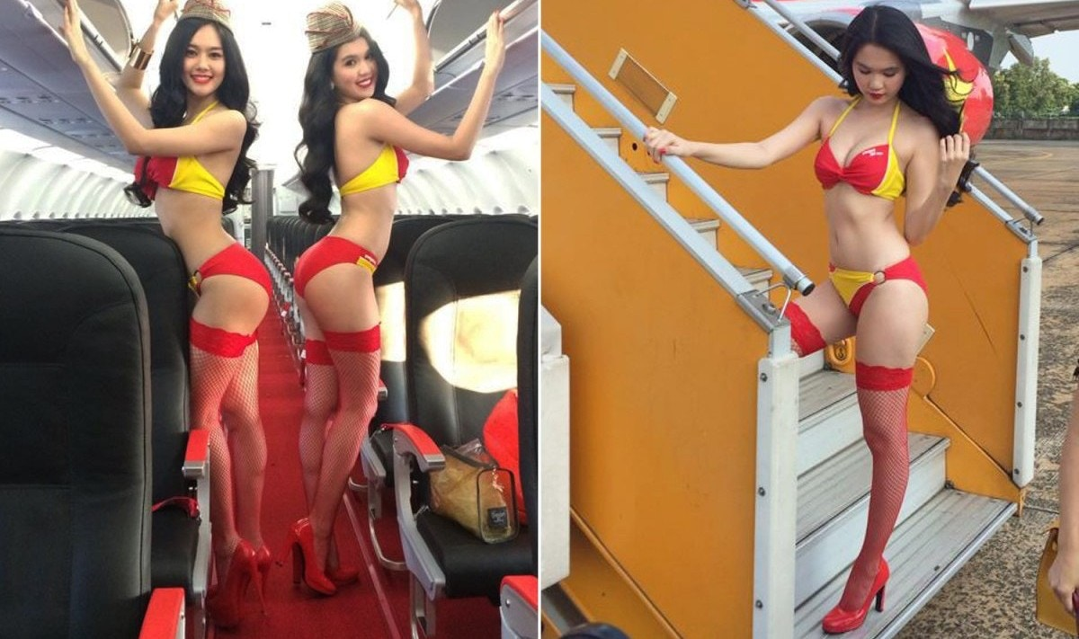Alasan Pramugari Vietjet Air Pakai Bikini Saat Bertugas -2437
