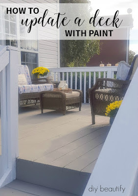 Find out how to clean and protect your deck at diy beautify