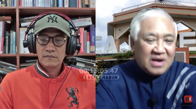 Refly Harun Doakan Din Syamsuddin Tak Dikejar Pendekar Jahat