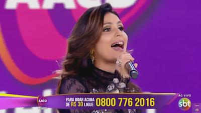 Teleton 2016 com Aline Barros, Priscilla Alcântara e André Valadão