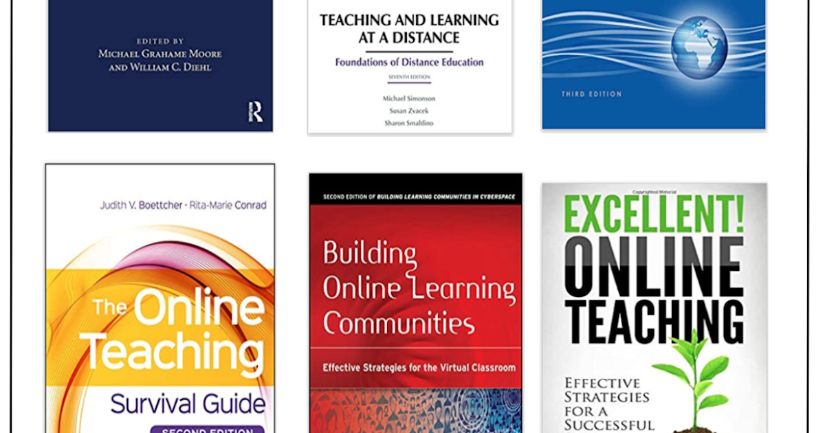 6 Great Distance Education Books for Teachers and Educators