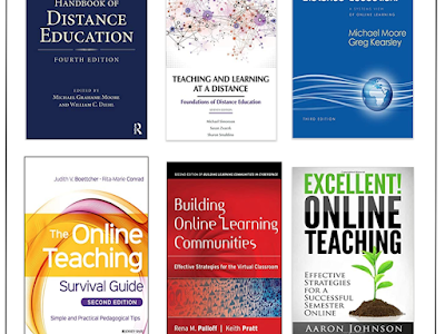 On Distance Learning: 6 Great Books for Teachers and Educators