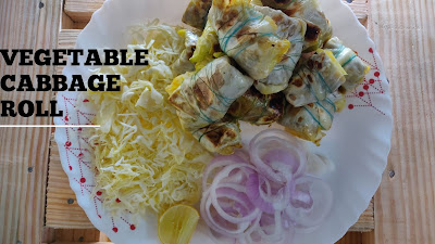 vegetable cabbage roll