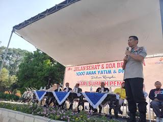 Peringati Sumpah Pemuda Gelar  Doa Bersama 1000 Anak Yatim dan Dhuafa