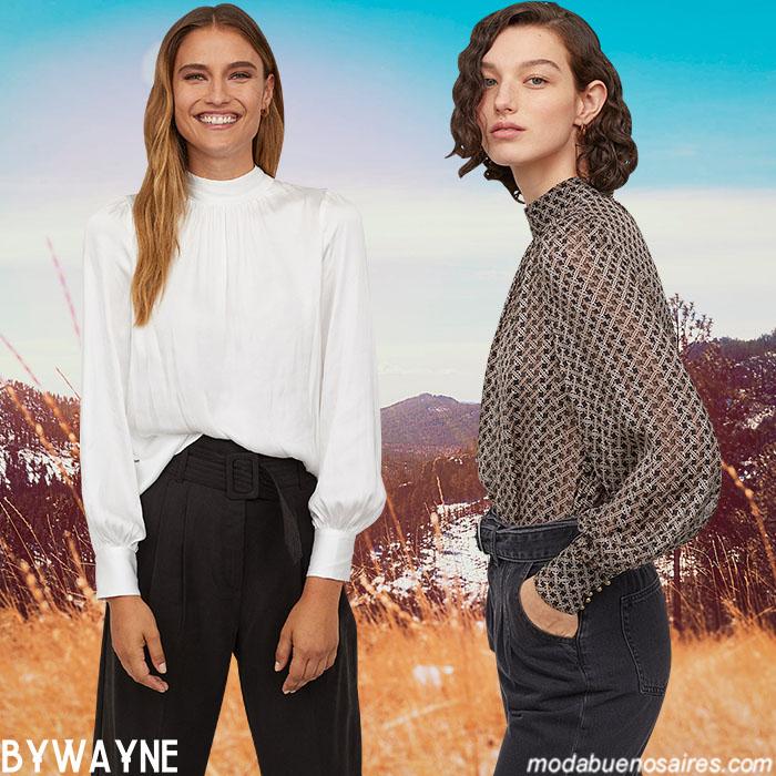 Camisas mujer otoño invierno 2020.