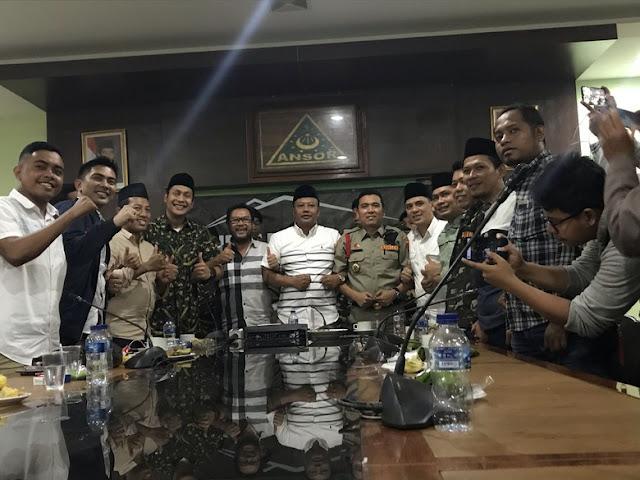 Yorrys Datangi GP Ansor, Klarifikasi Hoax Tuntutan Pembubaran Banser