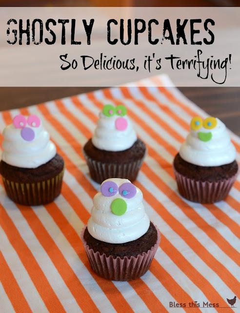 Ghost Cupcakes recipe