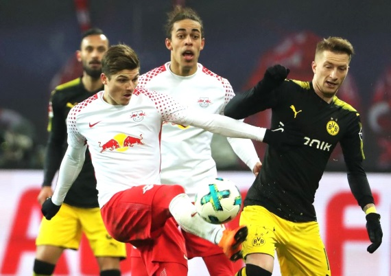 Marco Reus against Leipzig last weekend