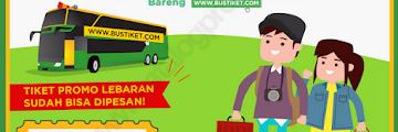 Promo Tiket Bus untuk Mudik dari BUSTIKET Diperpanjang