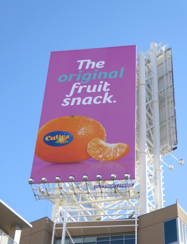 original fruit snack Cuties billboard