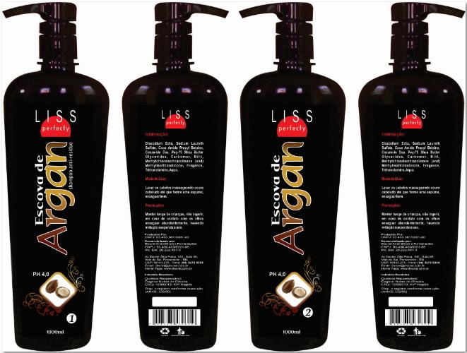 908381155 G4 distribuidora de cosméticos: Liss Perfecty Argan