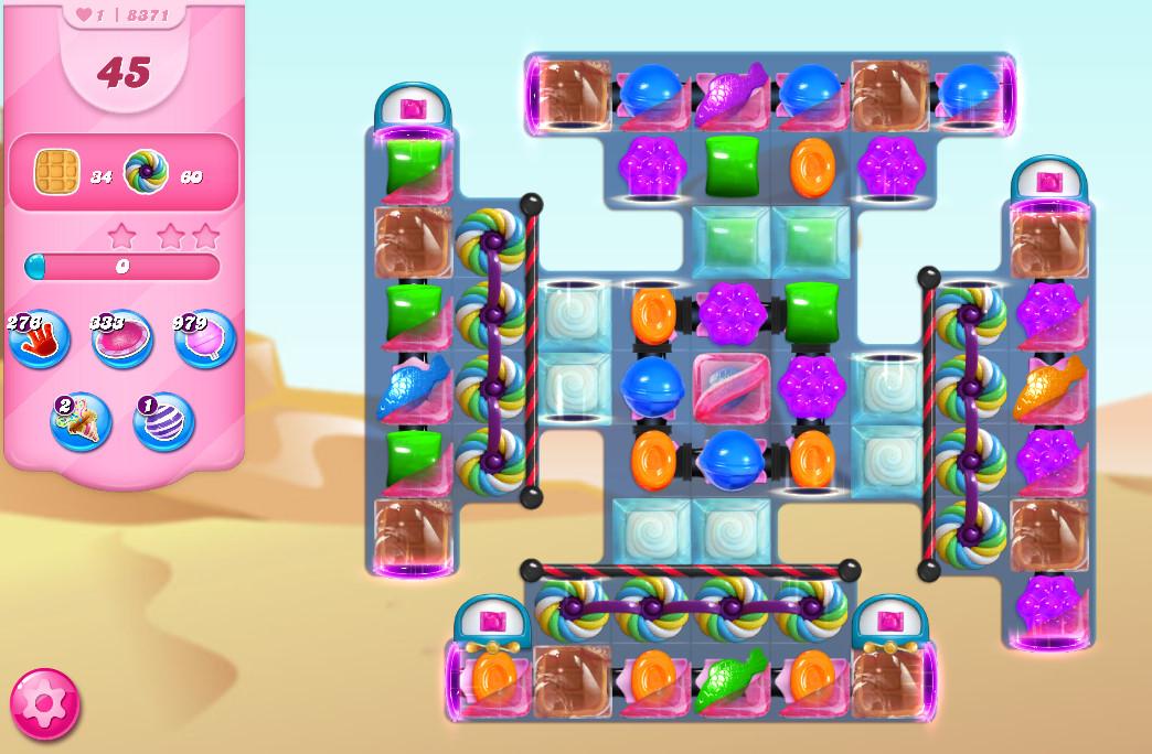 Candy Crush Saga level 8371