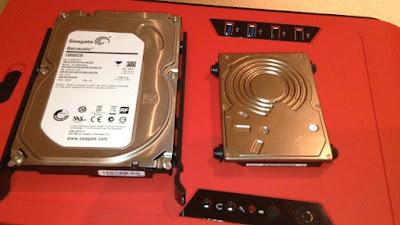 2. Lihat Ukuran HHD nya Ukuran HDD sangat pentinguntuk PC/Komputer Hardisk biasanya memiliki ukuran 3.5 inc seangkan Laptop memiliki ukuran 2.5 Inc