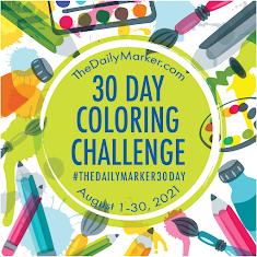 30 Dias a Colorir - de 1 a 30 de Agosto de 2021
