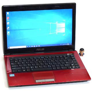 Laptop Second ASUS A43E Core i3 SandyBridge