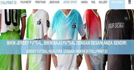 Lubang Leher Jersey Futsal
