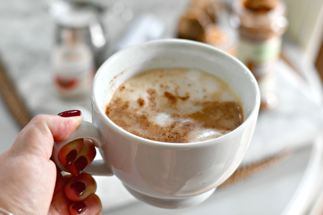 DIY STARBUCKS CHAI LATTE #drink #starbuck #latte #party #coffee