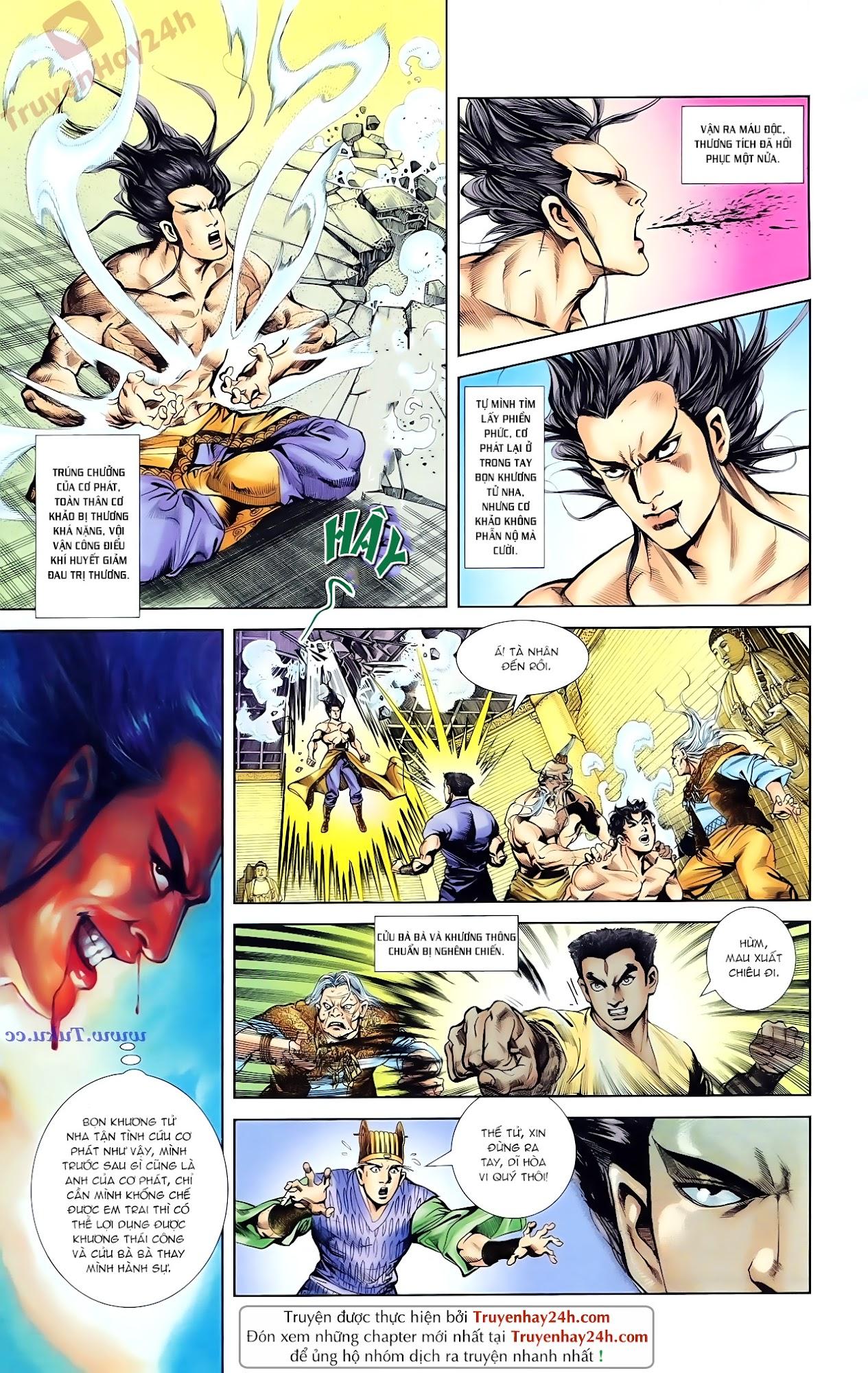 Cơ Phát Khai Chu Bản chapter 85 trang 8