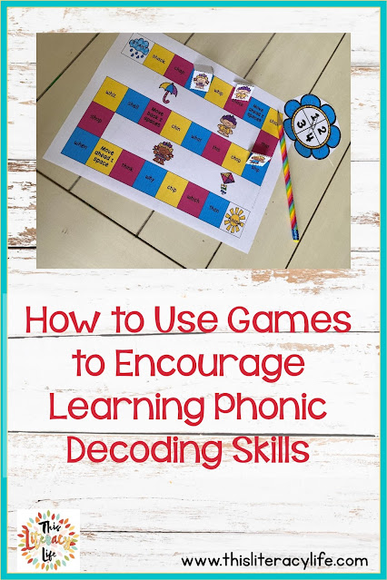 Using games for review is a great way to enhance phonic decoding skills