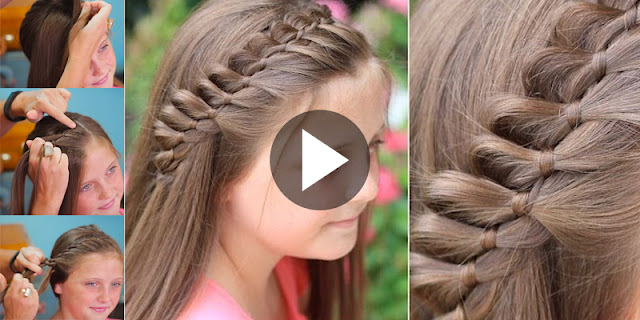 Learn - How To Create 4-Strand French Braid Pinback Hairstyle, See Tutorial