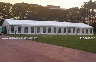 Marquee Tent Sebagai Ganti Dewan untuk Majlis Perkahwinan - Trend masa kini