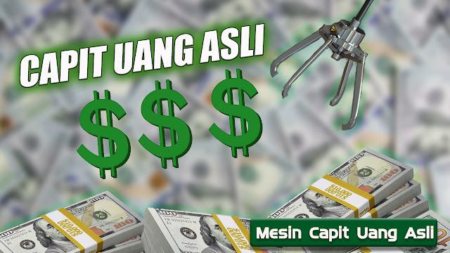 Game Capit Uang Asli Indonesia - Capit Uang Asli